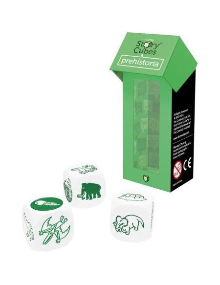 ASMODEE - Story Cube MIX Préhistoire - Pack Vert - Jeu de société