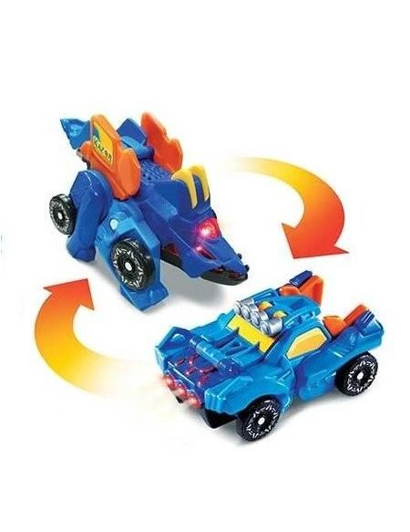 Switch & Go Dinos Mini - Kazor, Le Stegosaure (Buggy)