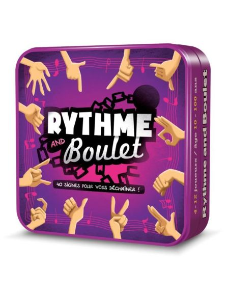 ASMODEE - Rythme & Boulet - Jeu de société cgrnb01