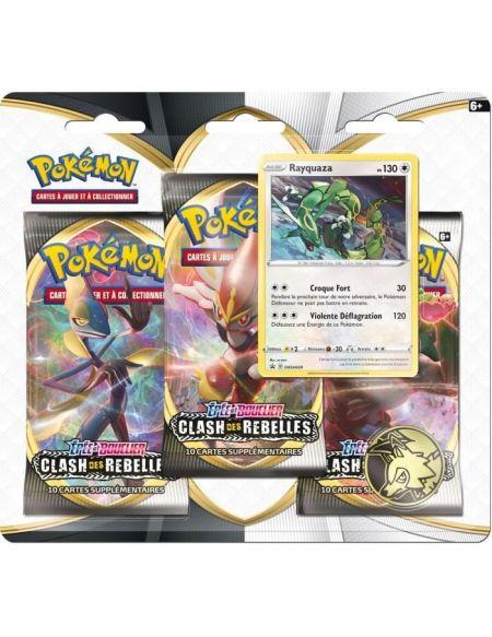 POKEMON Epée & Bouclier 2 - Pack 3 boosters (30 cartes Pokémon) - Modèle aléatoire
