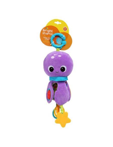 BRIGHT STARTS Poulpi la peluche Twirly Whirly Octopus
