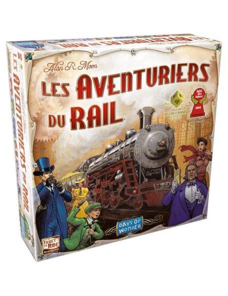 Les Aventuriers du Rail - jeu de société