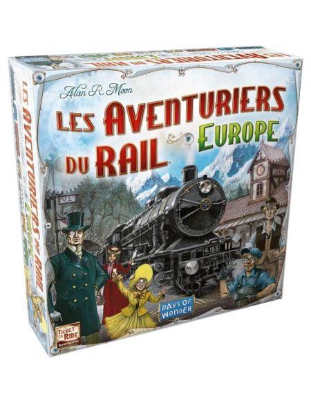 Les Aventuriers du Rail Europe - jeu de société