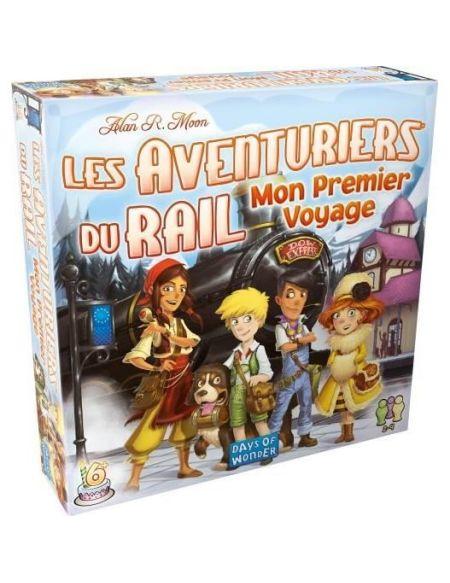 ASMODEE - Aventuriers du rail - Mon Premier Voyage - Jeu de société