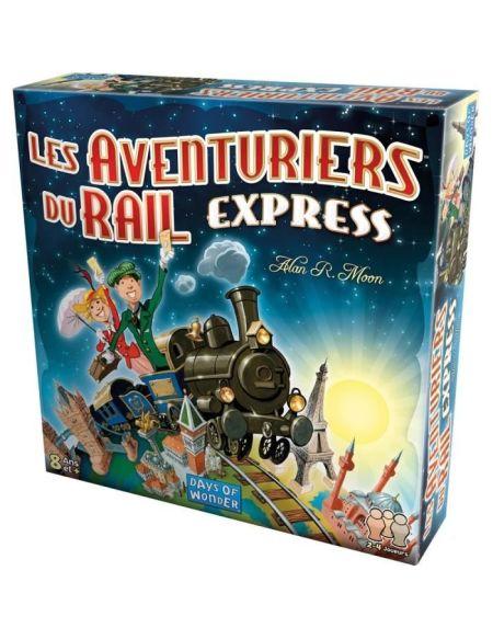LES AVENTURIERS DU RAIL Express - Jeu de société