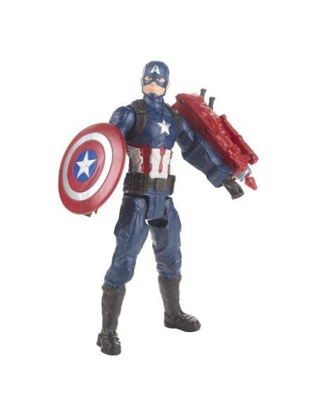 Marvel Avengers Endgame - Figurine Titan Captain America - 30 cm