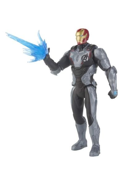 Marvel Avengers Endgame - Figurine Iron Man Team Suit - 15 cm