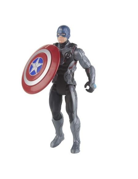 Marvel Avengers Endgame - Figurine Captain America Team Suit - 15 cm