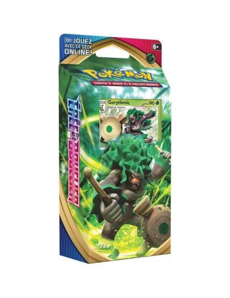 POKEMON Epée & Bouclier Série 1 EB01 - Starter GORYTHMIC (60 cartes Pokémon) - PŒB01