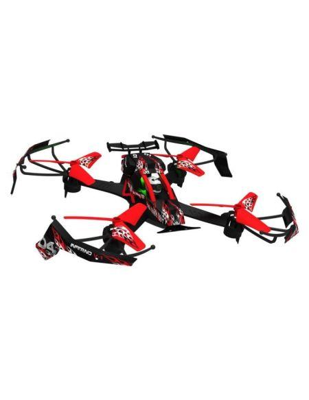 MONDO Ultradrone Pro Racer - Mega Pack Radio commandé - Rouge et Noir - A partir de 10 ans - Mixte
