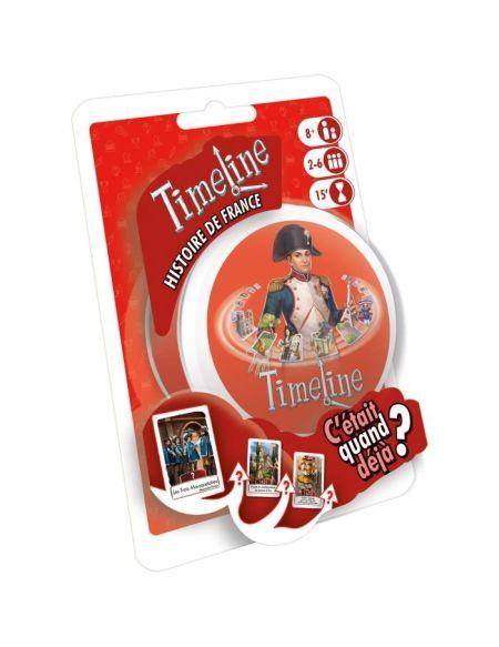 TIMELINE Histoire de France - Jeu de Société - Mixte - A partir de 4 ans