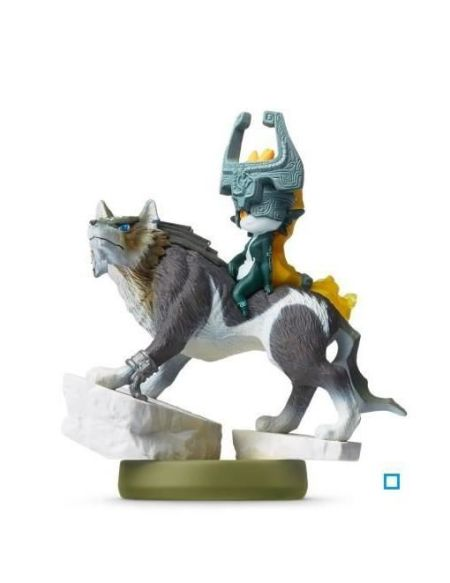 Figurine Amiibo Link Loup The Legend of Zelda Collection Zelda