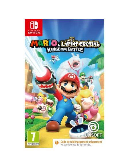 Mario + Les Lapins Crétins Kingdom Battle Jeux Switch (codes de téléchargement)