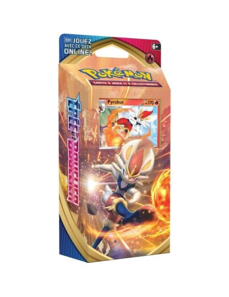 POKEMON Epée & Bouclier Série 1 EB01 - Starter PYROBUT (60 cartes Pokémon) - PŒB01