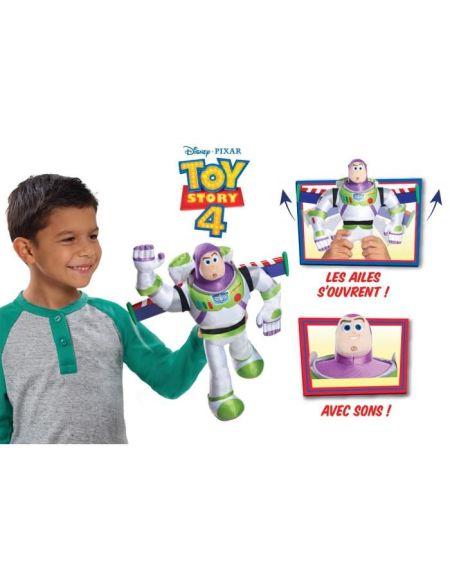 Toy Story 4- Peluche Buzz avec fonctions