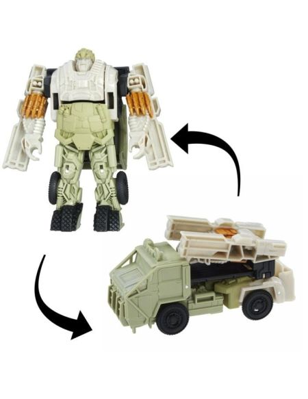 TRANSFORMERS The Last Knight - AUTOBOT HOUND Turbo Changers - Robot 10cm