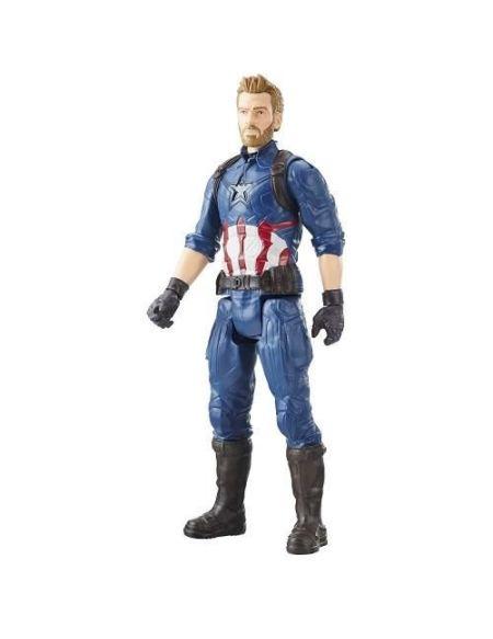 AVENGERS INFINITY WAR - Captain America - Figurine Titan 30cm