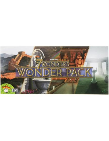 7 WONDERS - Wonder pack - Jeu de société