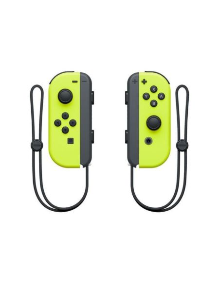Paire de manettes Joy-Con jaune néon pour Nintendo Switch