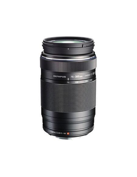 Objectif zoom Olympus ED 75-300 MM F/4.8-6.7 II NOIR