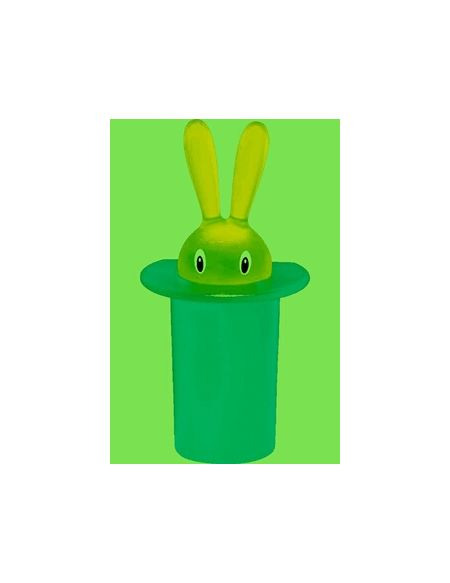 Article de décoration Alessi MAGNET DECO MAGIC BUNNY VERT