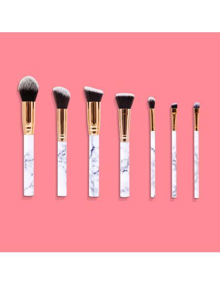 Set De Pinceaux De Maquillage Et Trousse