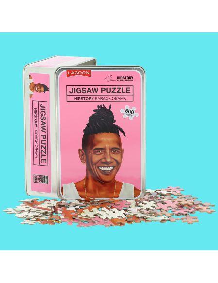 Puzzle Casse-tête Jigsaw - Obama