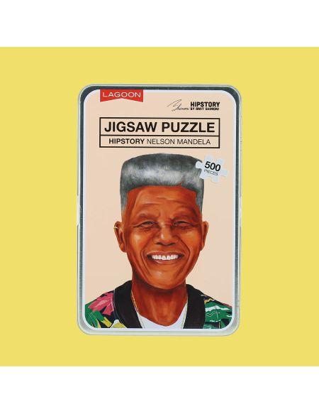 Puzzle Casse-tête Jigsaw - Nelson Mandela