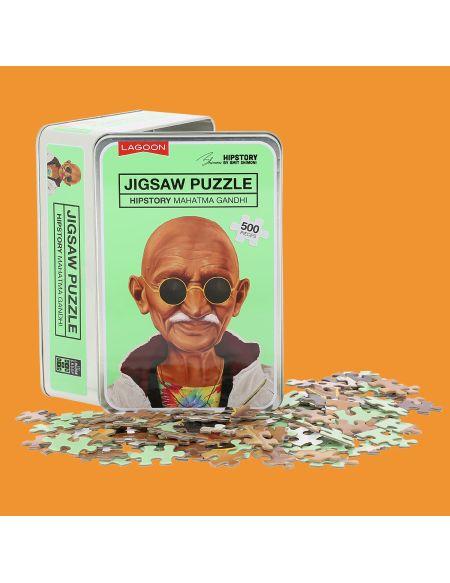 Puzzle Casse-tête Jigsaw - Gandhi