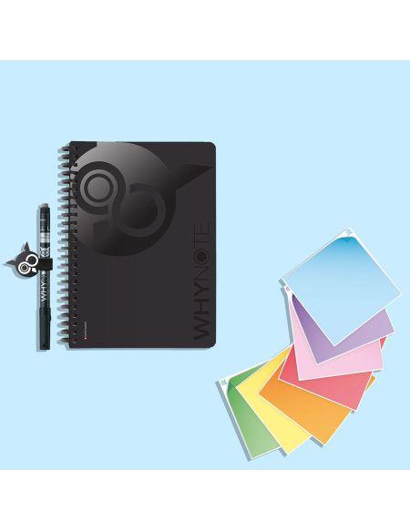 Pack Cahier Réutilisable A5 & Mémopost Ré-utilisable