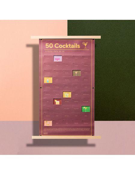 50 Cocktails Dans Une Vie-affiche To Do