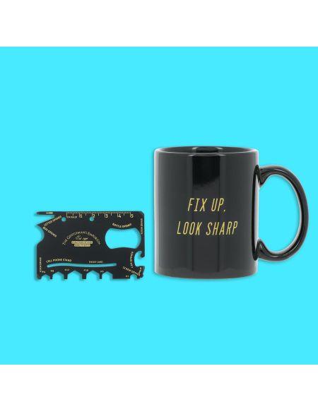 Credit Card Tool Et Mug - Mug Et Couteau Suisse