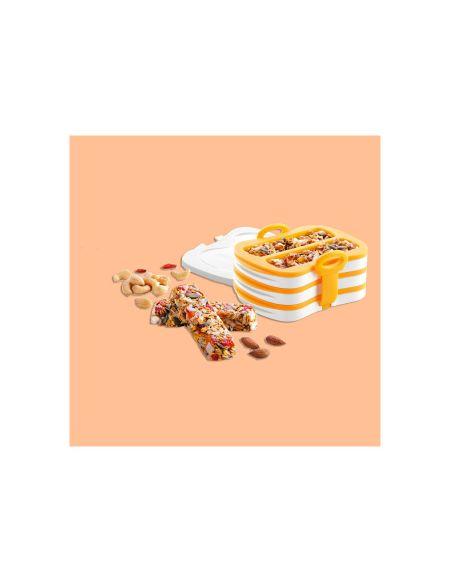 Tescoma - Moule Et Presse En Silicone Pour Barres De Cereale
