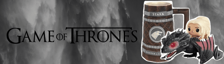 Figurines, produits dérivés & goodies Game of thrones
