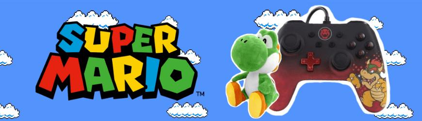 Figurines, produits dérivés, goodies & jeux vidéo Super Mario
