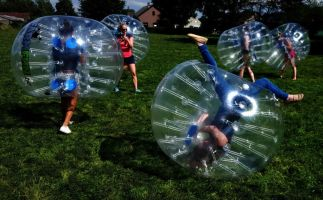 Teambuilding Bumper voetbal Foto1