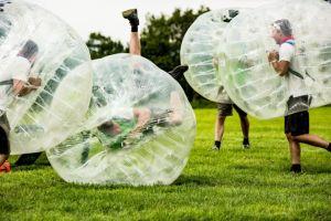 Teambuilding Bumper voetbal Foto0