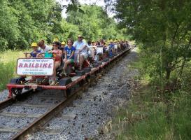 Teambuilding Railbiking Tessenderlo Foto2