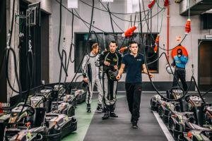 Teambuilding Elektrisch karten Foto0
