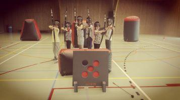Teambuilding Archery Tag Kids