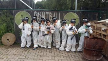Teambuilding Paintball Kids Foto0