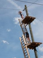 Teambuilding Super Zip Wire Foto1