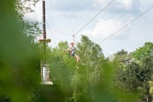 Teambuilding Super Zip Wire Foto2