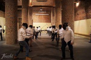 Teambuilding Schermen B2B Foto1