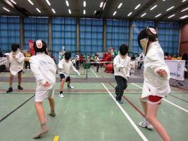 Teambuilding Schermen Kids Foto1