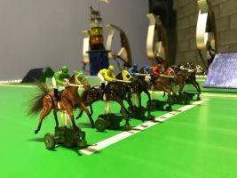 Teambuilding Interactieve Paardenraces met Bookmaker Foto0