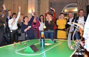 Teambuilding Interactieve Paardenraces met Bookmaker Foto1