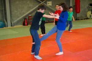 Teambuilding Initiatie zelfverdediging Foto1
