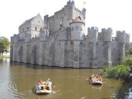 Teambuilding Raft fotozoektocht in het historische centrum van Gent Foto0