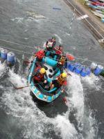 Teambuilding Rafting op de wildwaterpiste in arras noord frankrijk Foto0